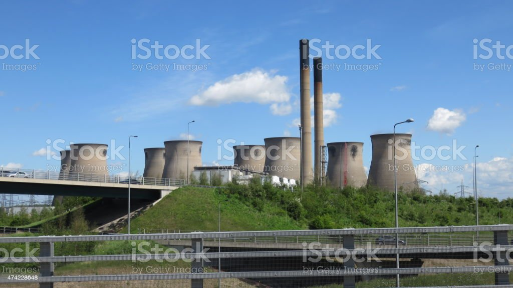 Power Station Stands Idol stock photo