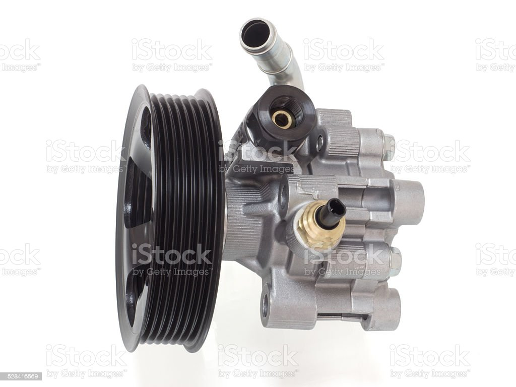 power steering pump royalty-free stock photo