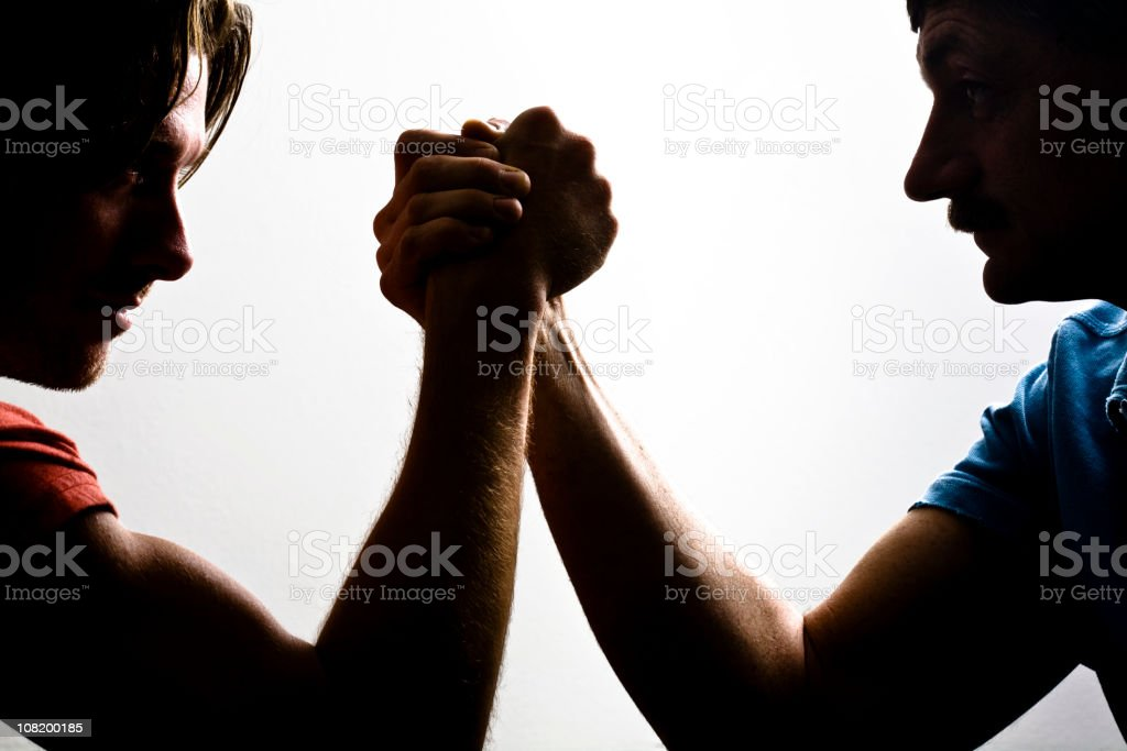 Power Struggle stock photo
