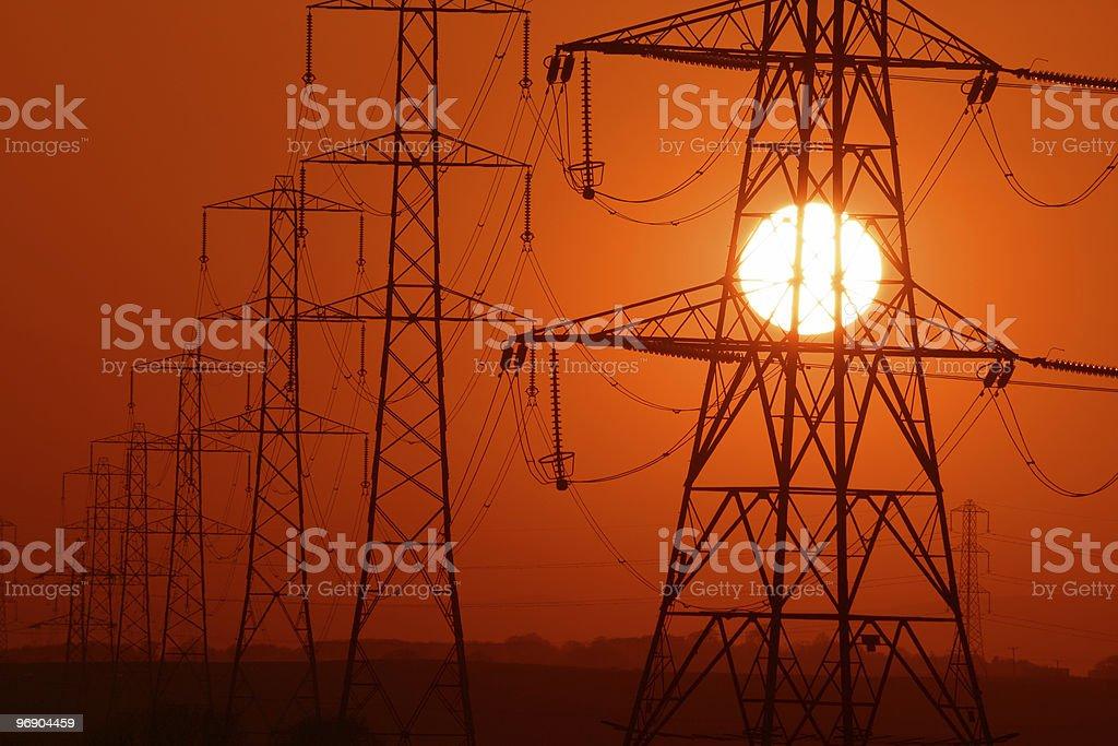 power sun royalty-free stock photo