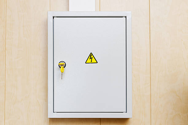 power supply box - fuse box stock photos and pictures
