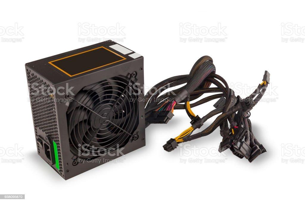 Stromversorgung für computer – Foto
