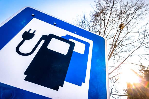 Stromversorgung für Elektroautos – Foto