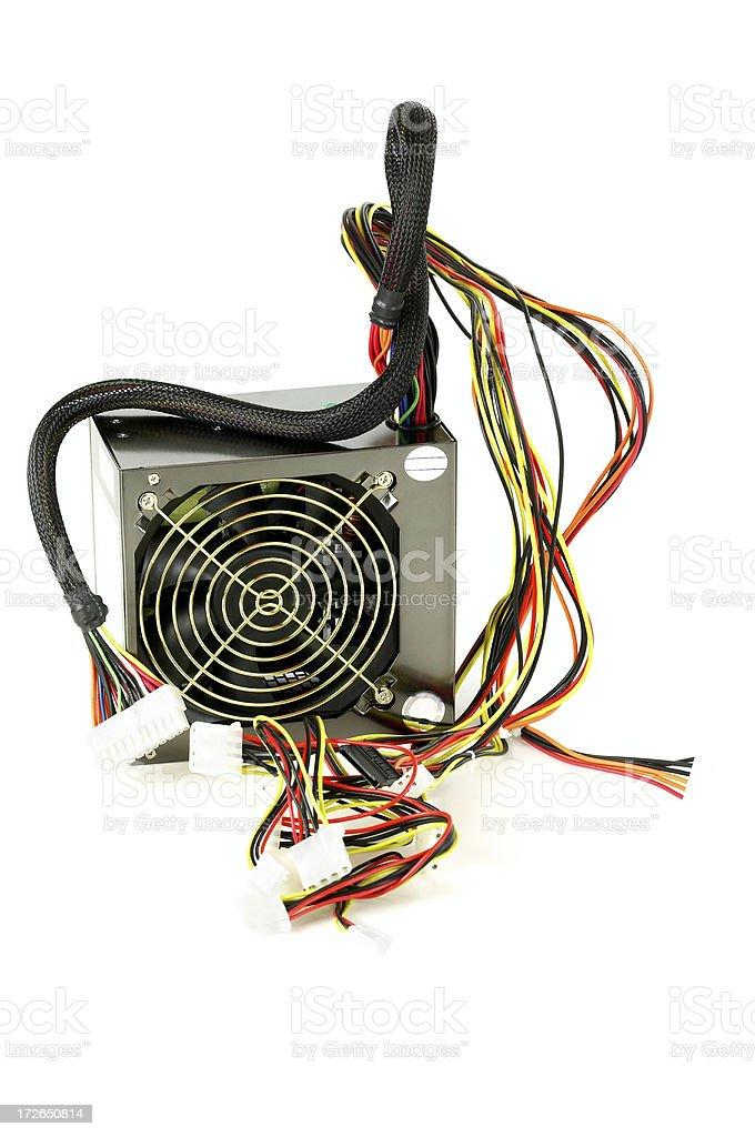 Power supply royalty-free stock photo