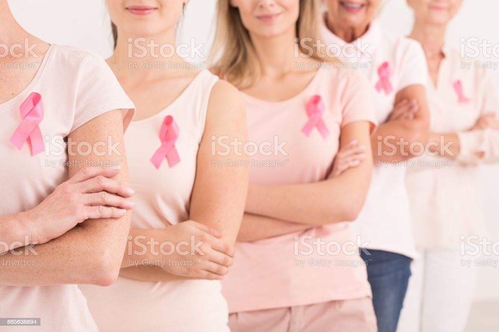 Power to fight breast cancer stock photo
