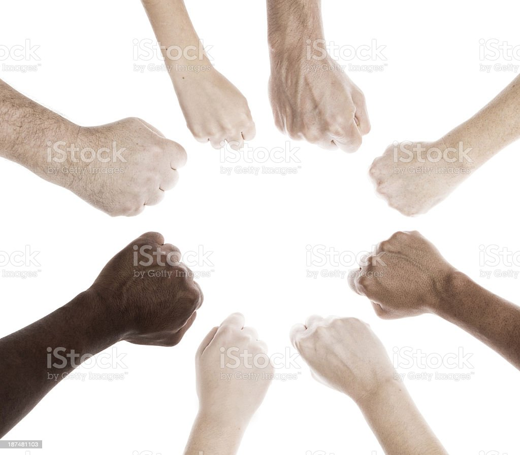Power to the people stock photo