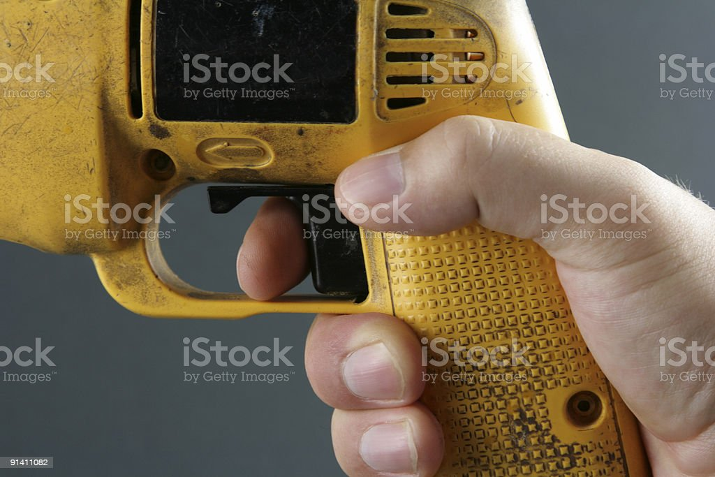 Power Tool Trigger royalty-free stock photo