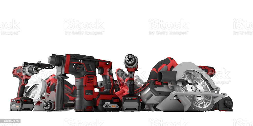 Power Tools stock photo