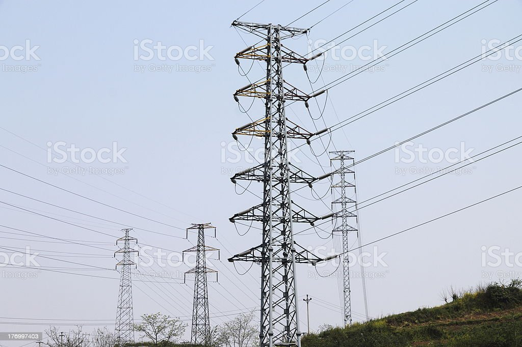 power tower royalty-free stock photo