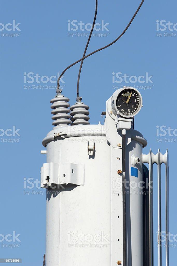 Power Transformer royalty-free stock photo