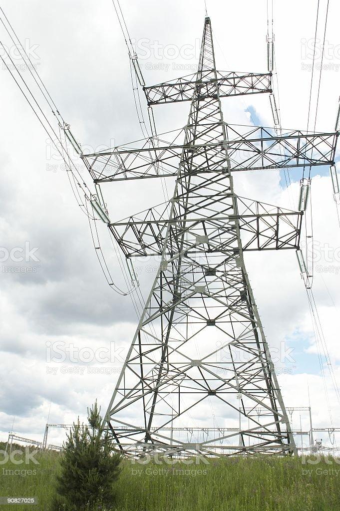 Power Transmission stock photo