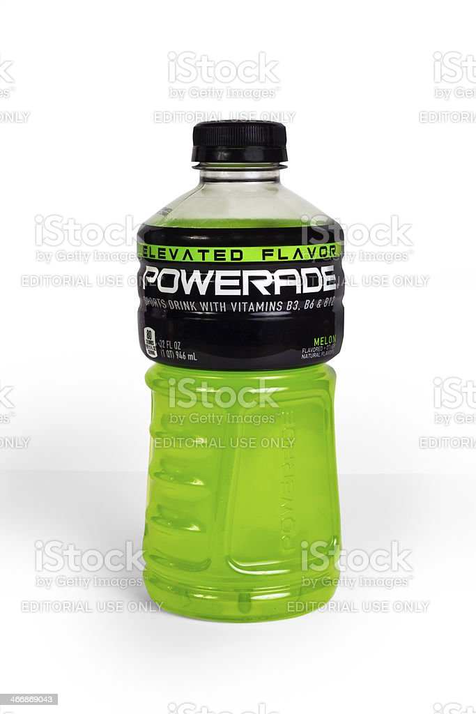 Powerade Sports Drink stock photo