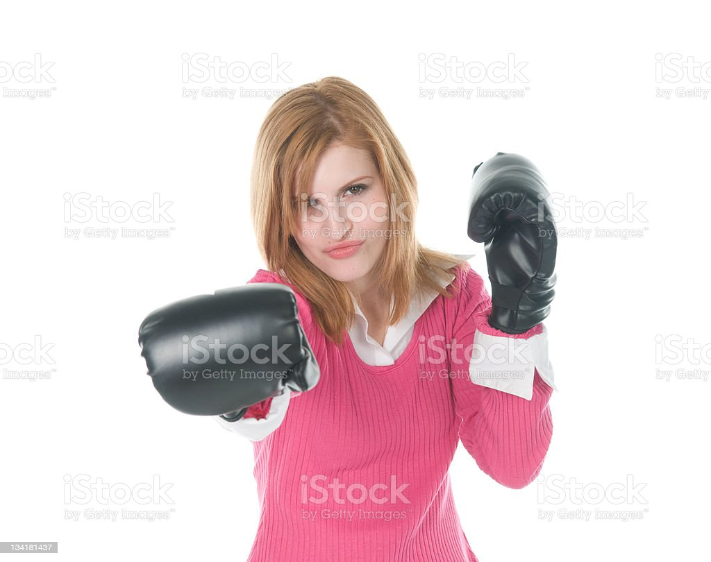 Powerful Businesswoman stock photo