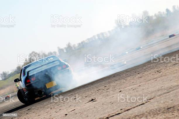 Photo of Powerful car drifting