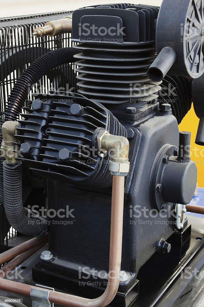 powerful compressor royalty-free stock photo