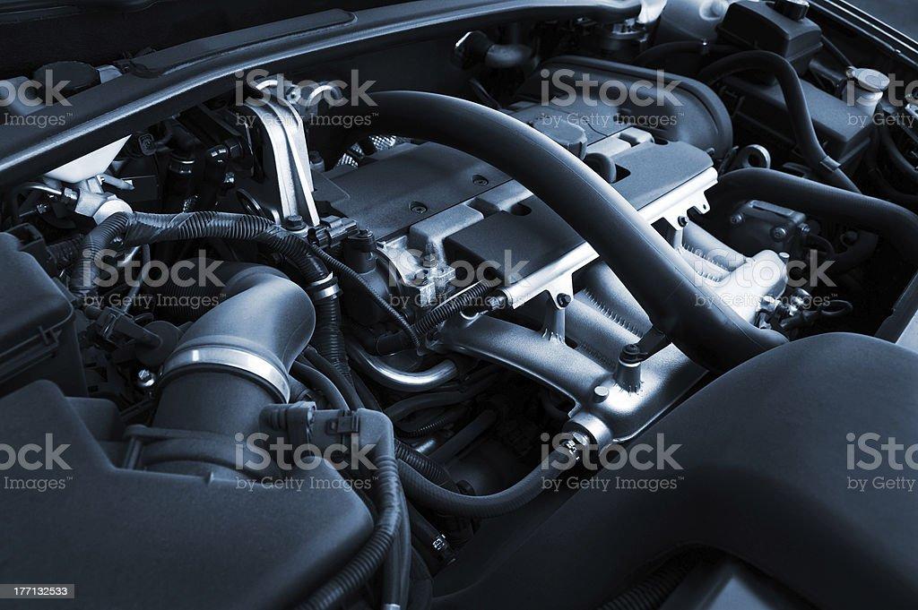 Motor potente - foto de stock