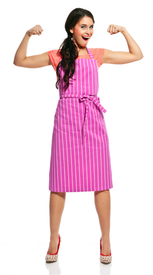 Powerful Housewife Stock Photo - Download Image Now
