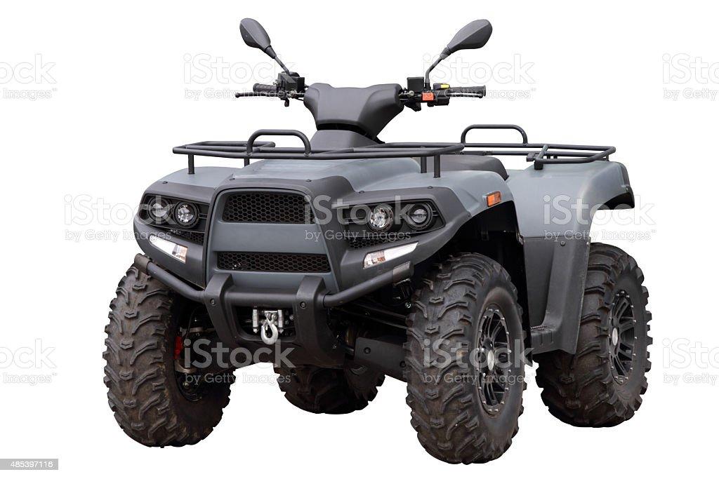 Powerful modern ATV stock photo