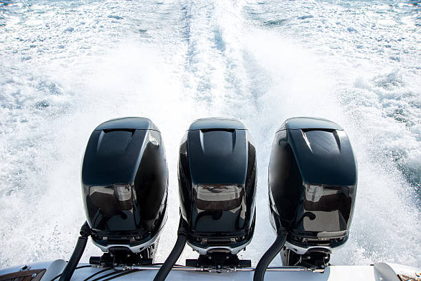 powerful motor for sports boat - 電子摩打 個照片及圖片檔