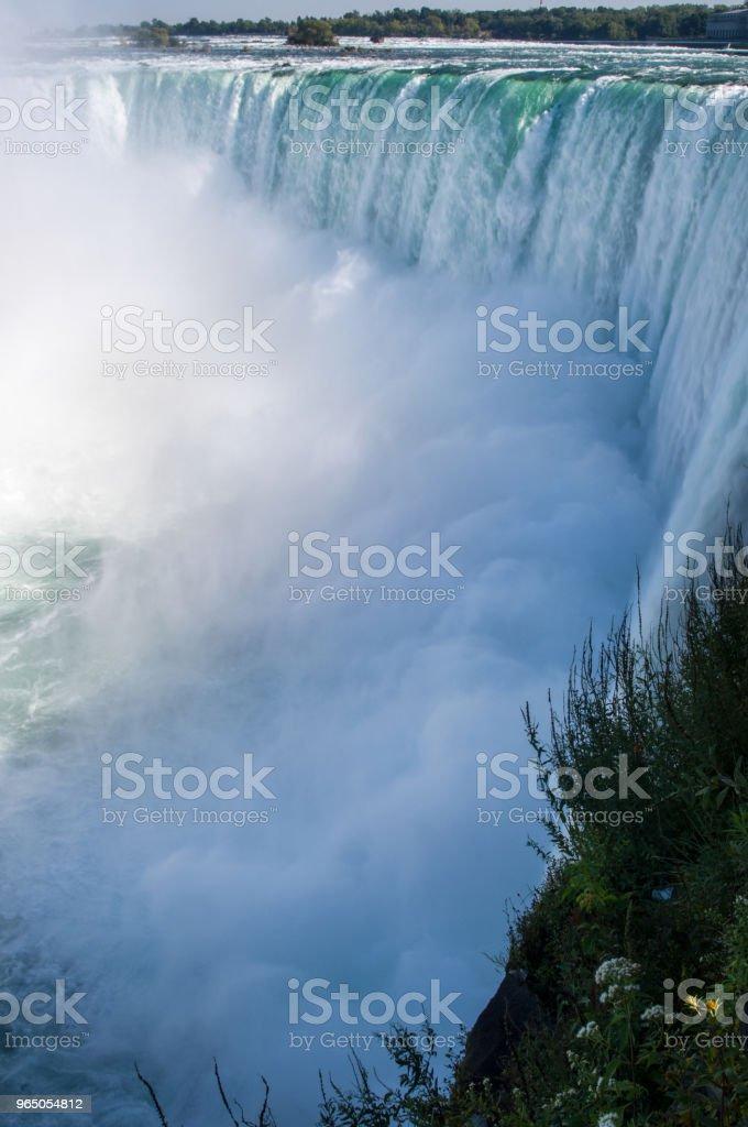 Powerful Niagara Falls zbiór zdjęć royalty-free