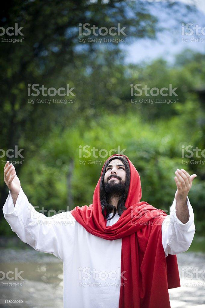 powerful prayer royalty-free stock photo