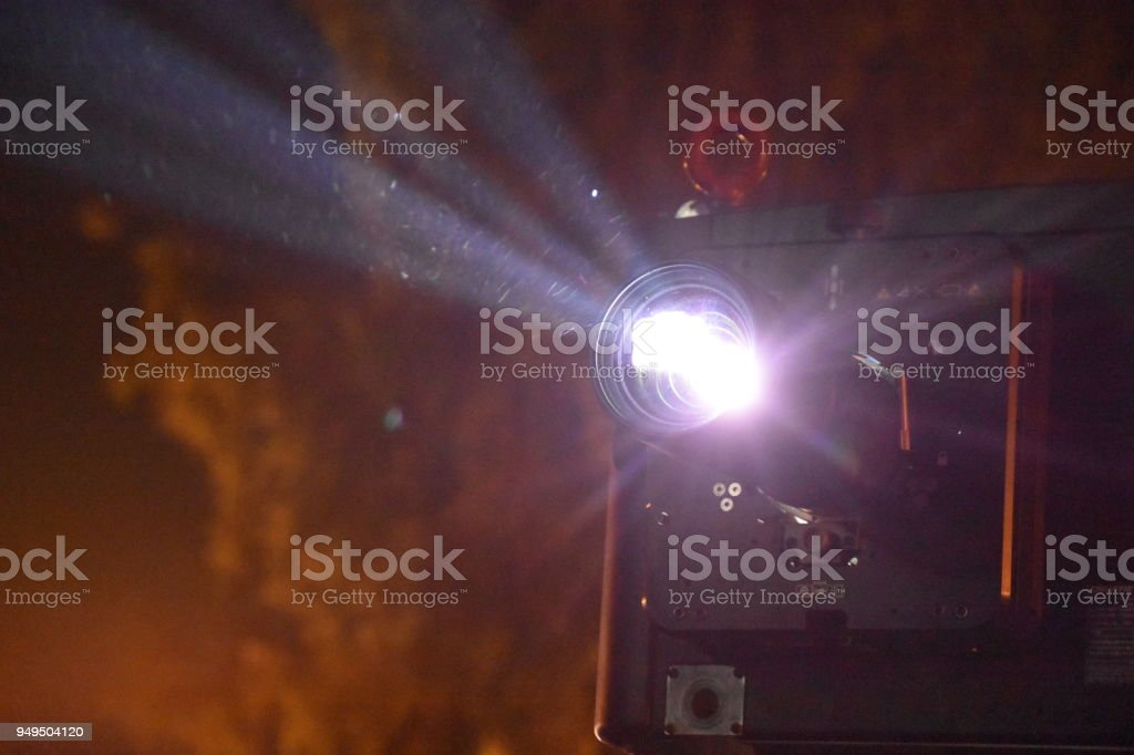 Leistungsstarke Projektor – Foto