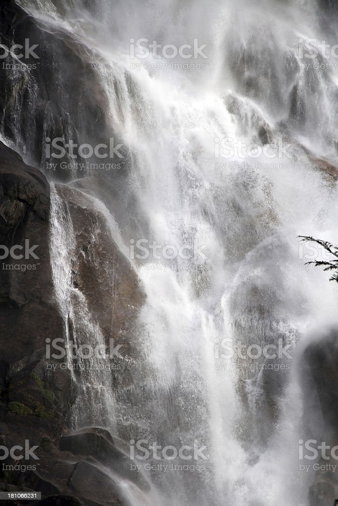 Powerful Torrent royalty-free stock photo