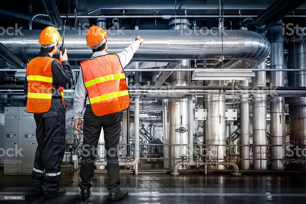 Powerhouse govern engineer stock photo