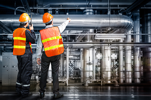 Powerhouse Govern Engineer Stock Photo - Download Image Now