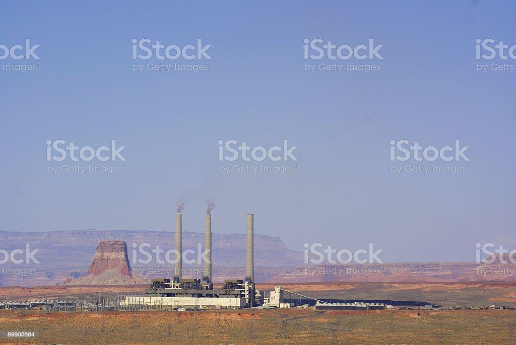 powerplant paisaje foto de stock libre de derechos