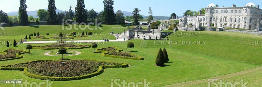 Enniskerry, County Wicklow, Ireland, May 25, 2012: Powerscourt Estate...