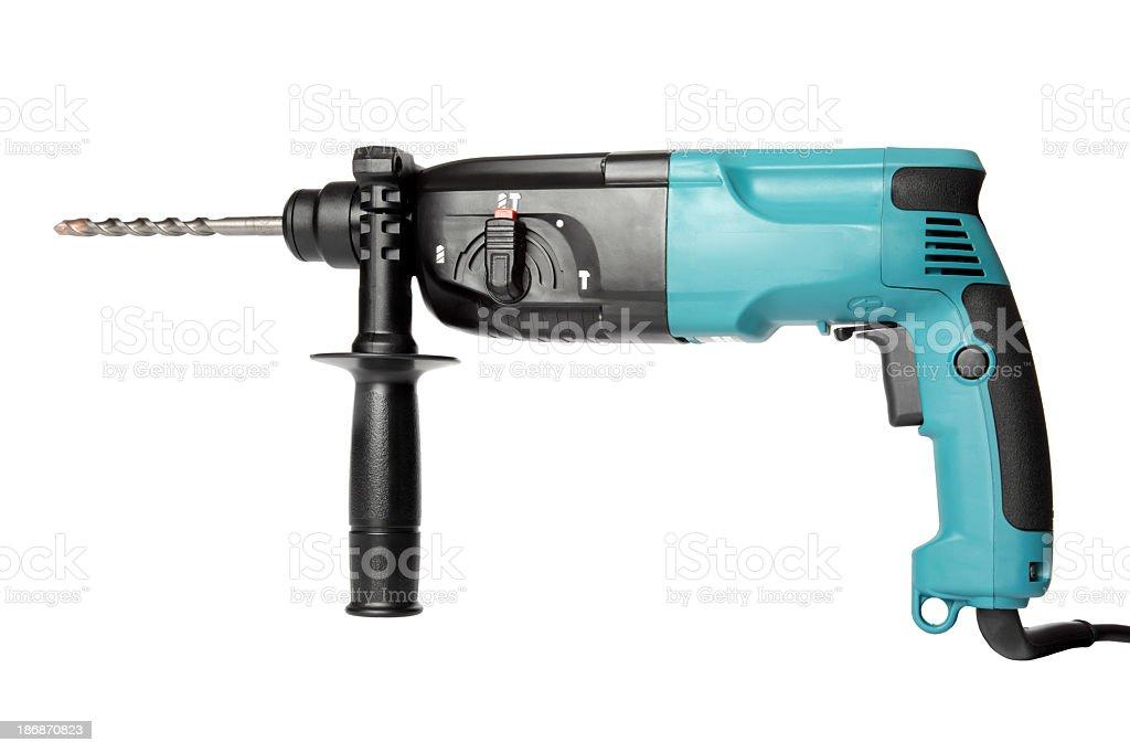 Powertools - Hammer Drill stock photo