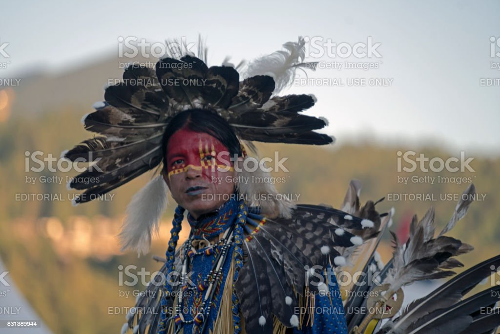 Powwow Chilliwack, British Columbia stock photo
