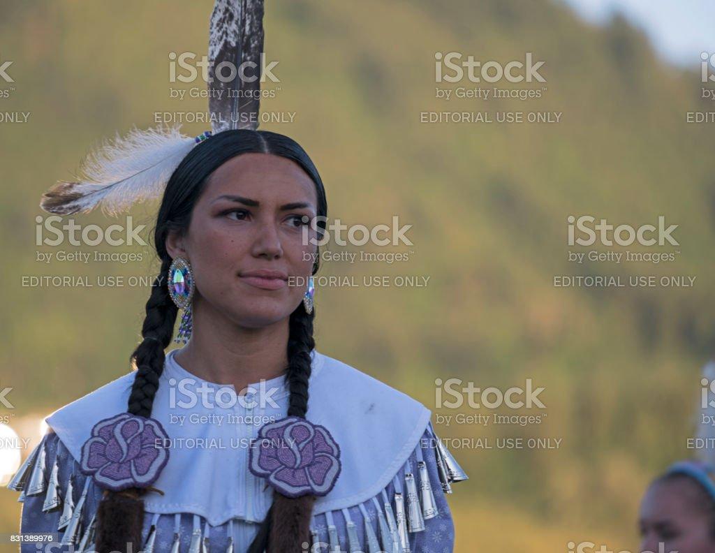 Powwow, Chilliwack, British Columbia stock photo
