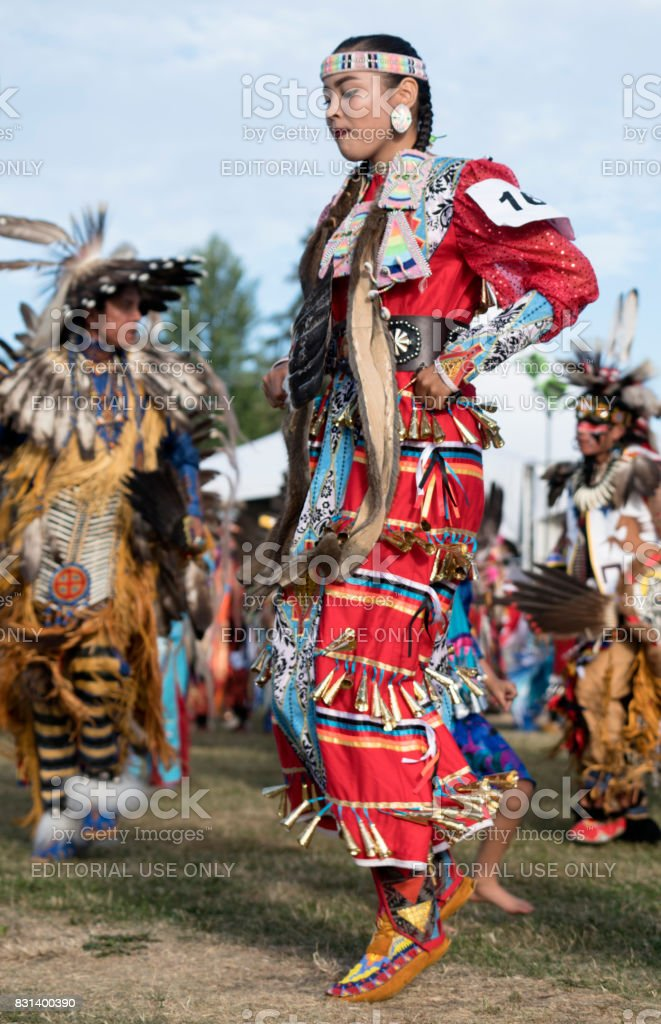 Powwow Squamish Nation Editoril stock photo