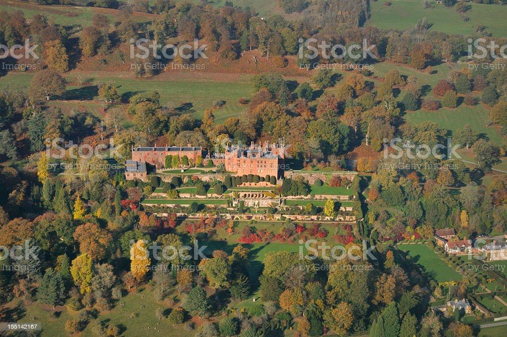 Powys Castle royalty-free stock photo