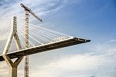 Poyab Bridge under construction, Freiburg, Switzerland