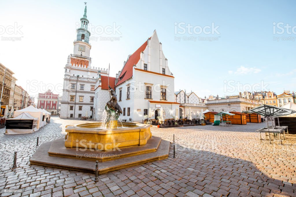 Posen-Stadt in Krakau – Foto
