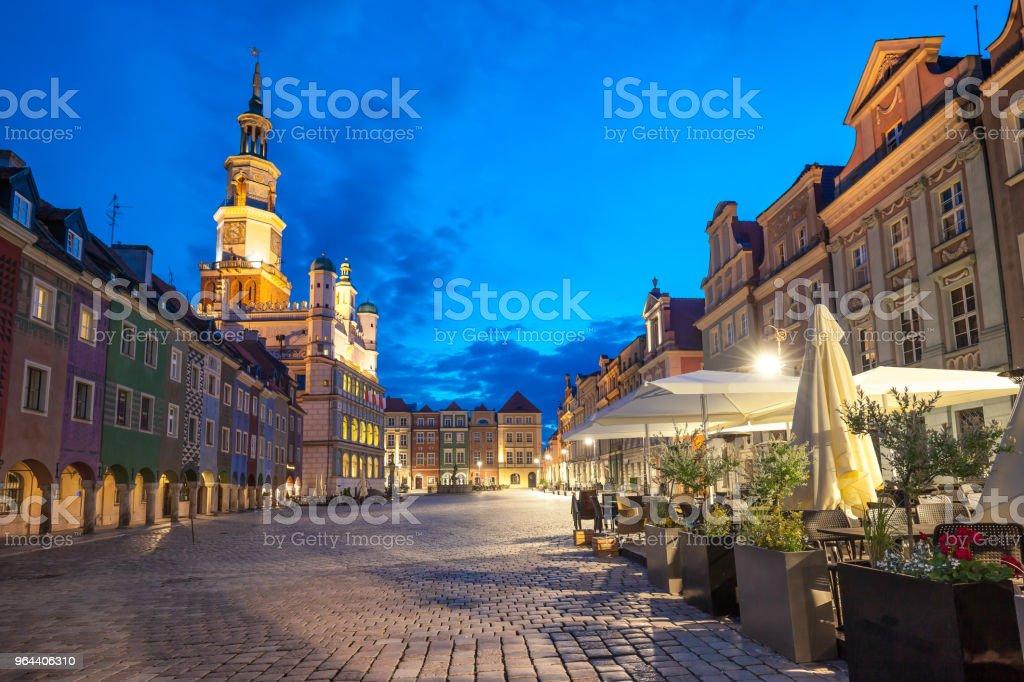 Poznan Stad - Royalty-free Architectuur Stockfoto