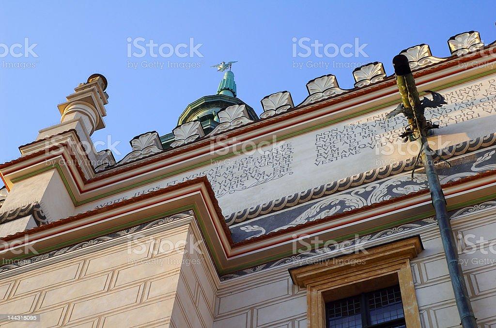 Poznan Historic City Hall 3 royalty-free stock photo