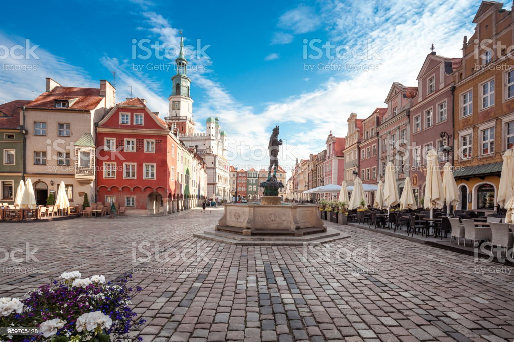 Poznan in Greater Poland stock photo
