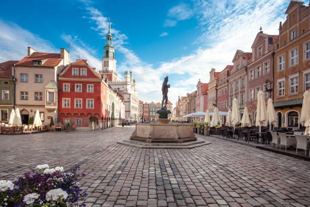 Poznan in Greater Poland stock photo
