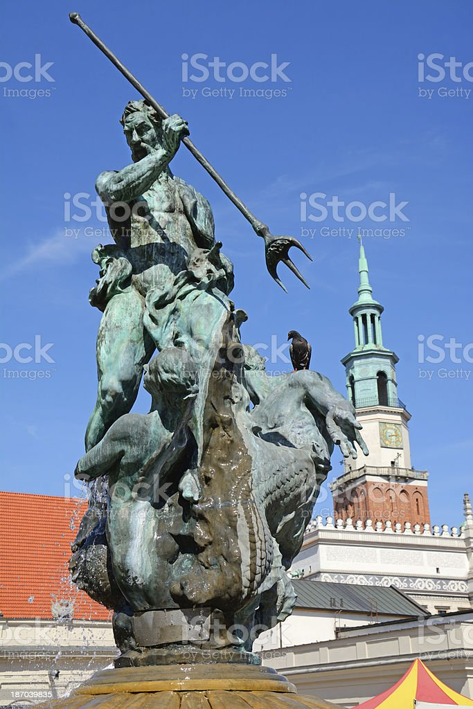 Poznan royalty-free stock photo