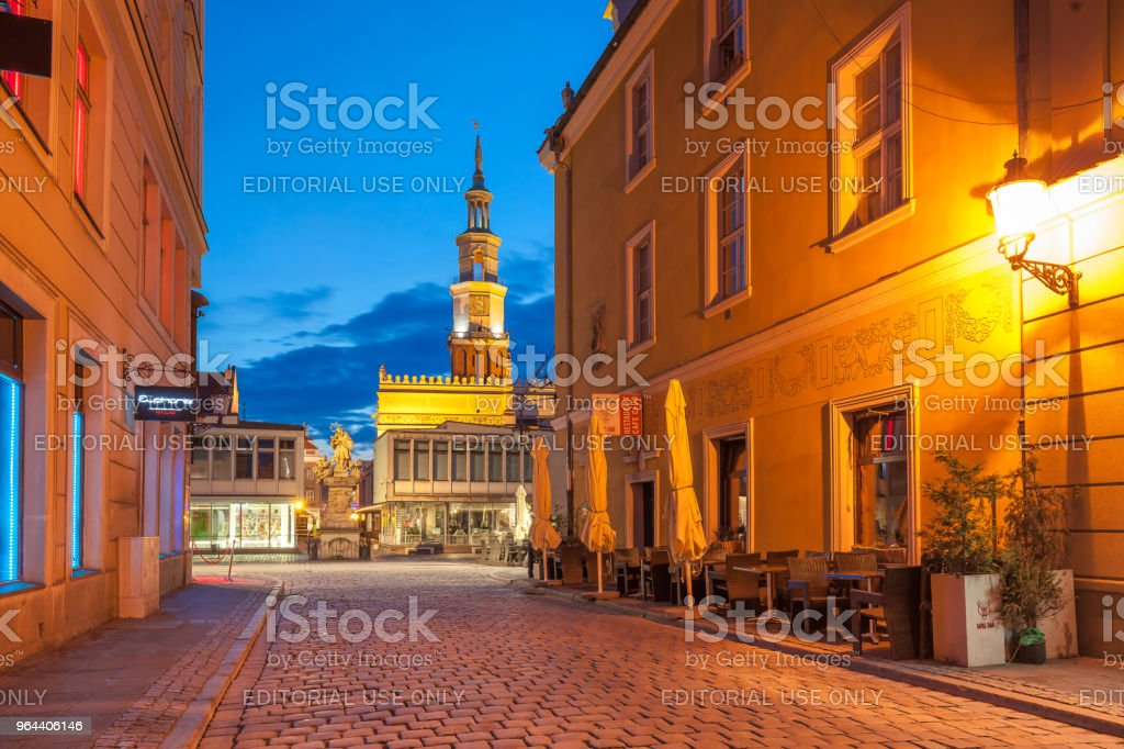 Poznan - Royalty-free Architectuur Stockfoto