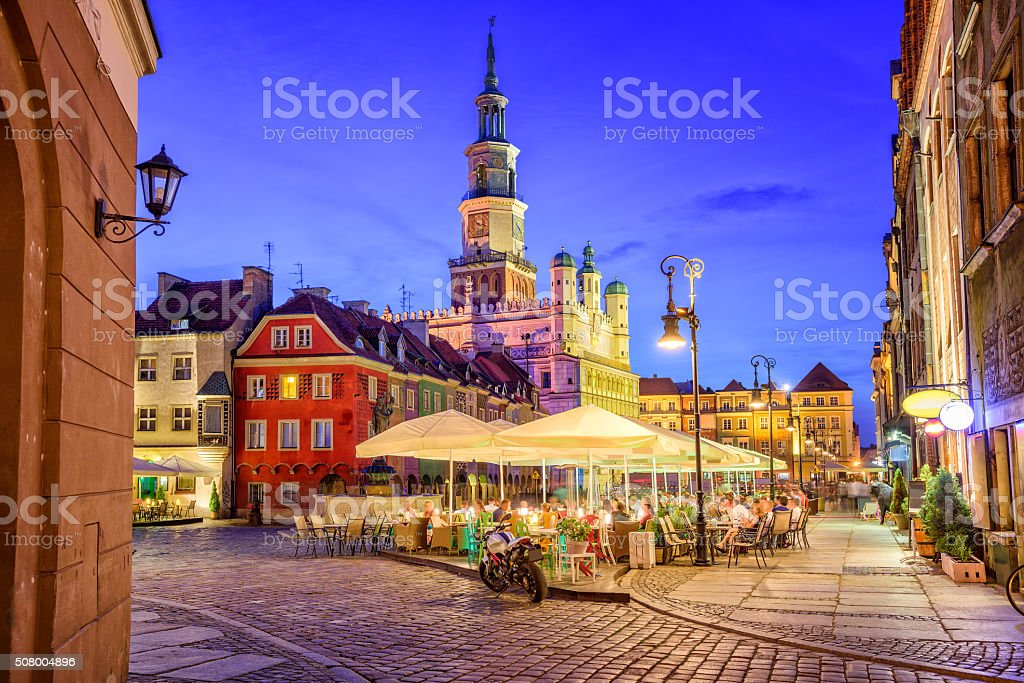 Poznan, Poland stock photo