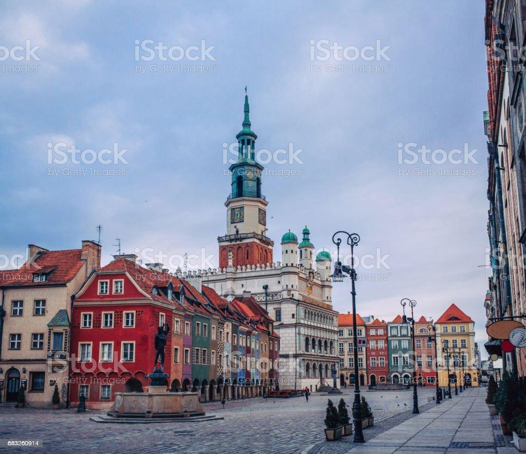 Poznan. Poland royalty-free 스톡 사진