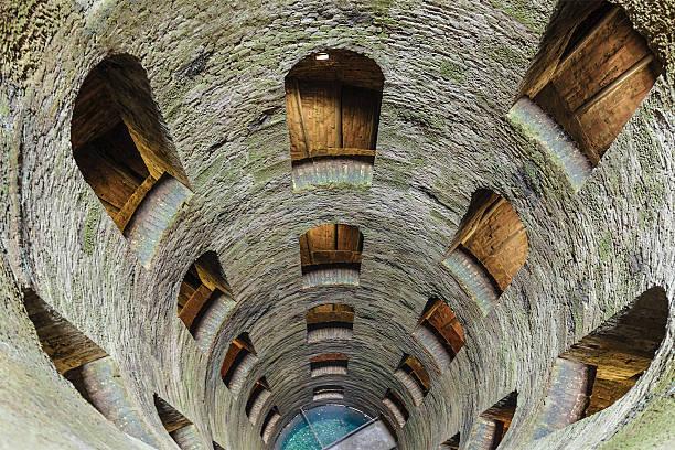 Pozzo di San Patrizio, St Patrick's Well - Italy stock photo