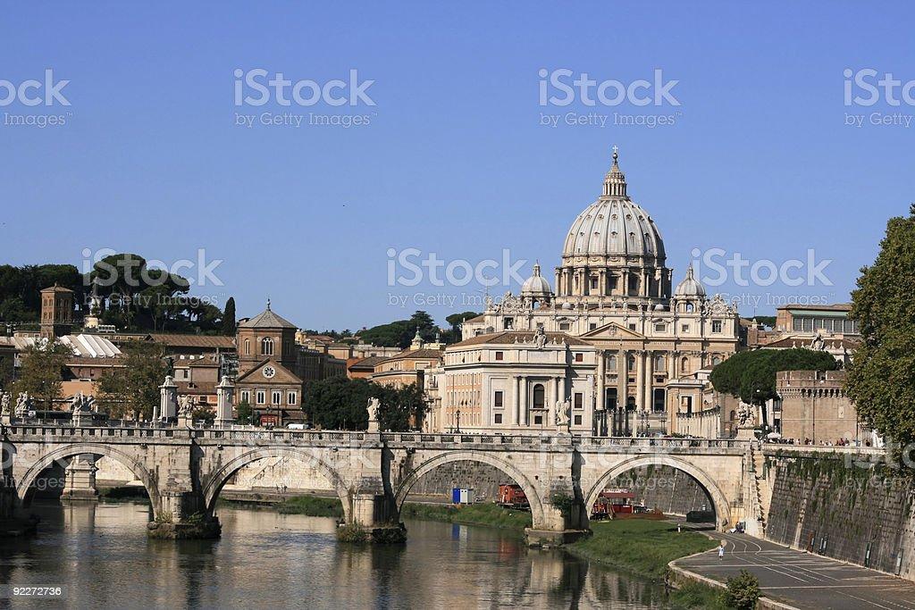Päpstliche Rom royalty-free stock photo
