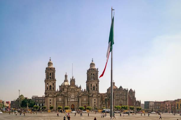 Praça da Constituição - Zocalo - foto de acervo