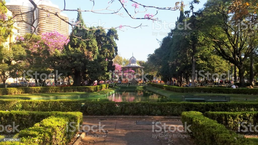 Praça da Liberdade, Belo Horizonte, Minas Gerais, Brasil stock photo